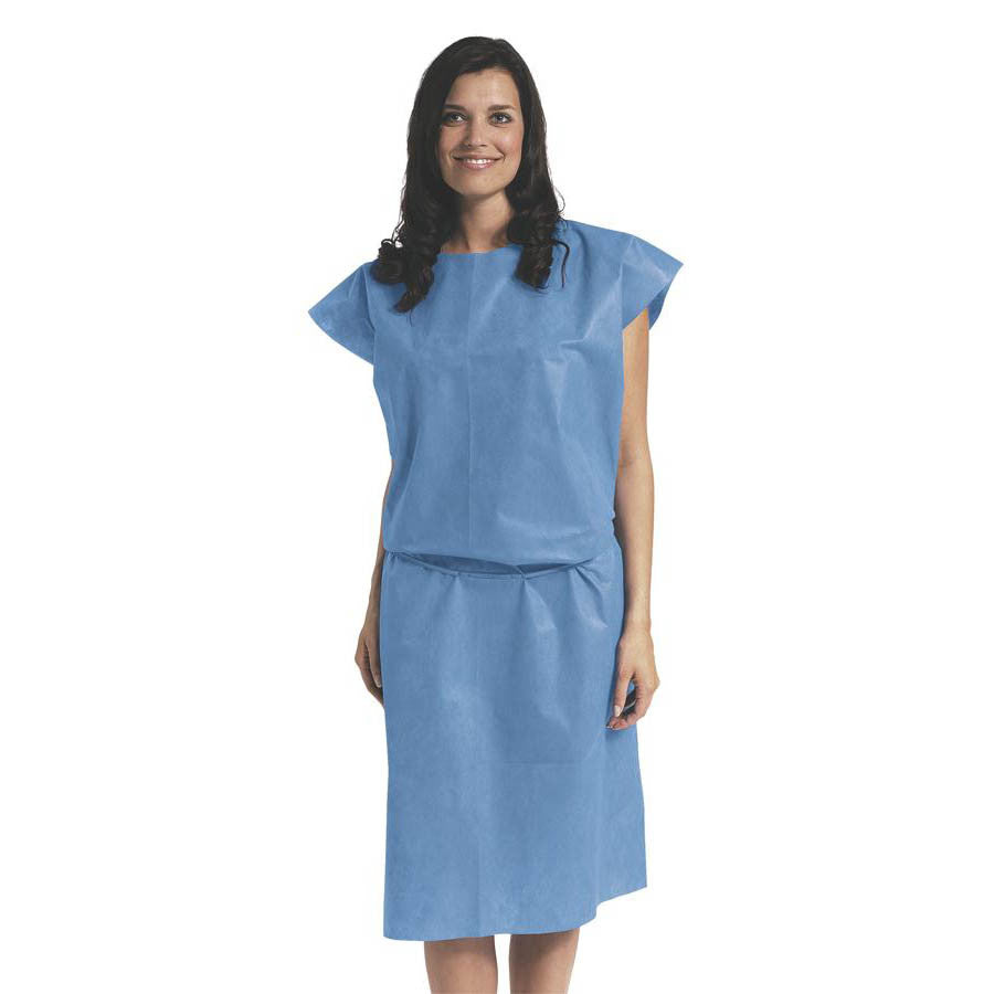 Disposable Sleeveless Multi Layer Patient Gowns   Only Medical Products