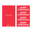 Load image into Gallery viewer, Merry Christmas Greeting Card