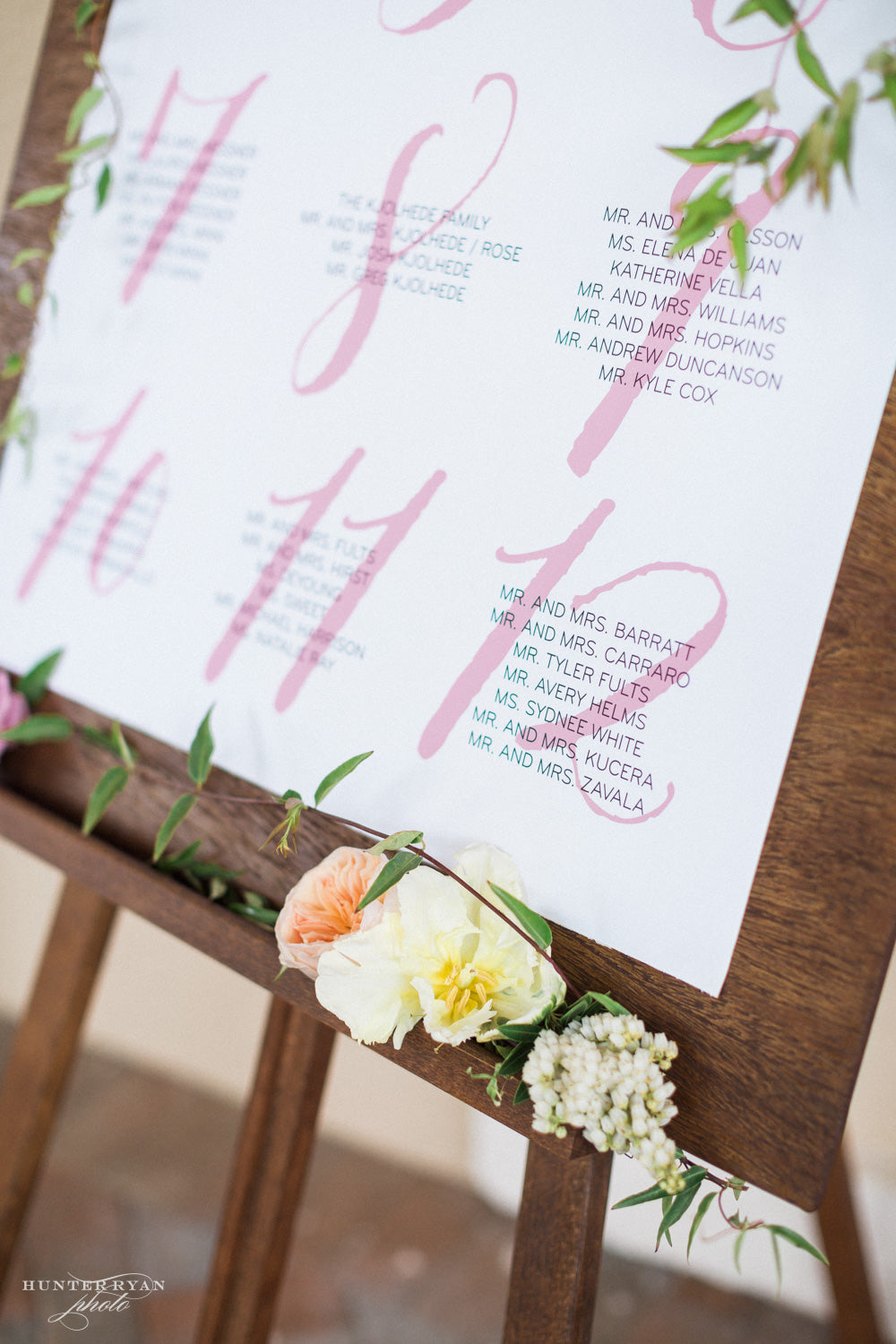 Wedding Seating Chart, Escort Cards, Wedding Place Cards