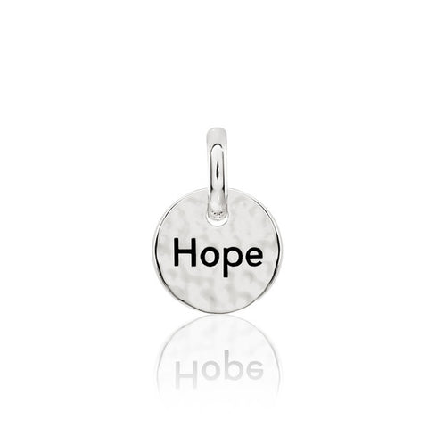 Hope Sterling Silver Pendant