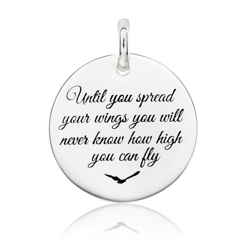 Until You Spread Your Wings You Never Know How High You Can Fly