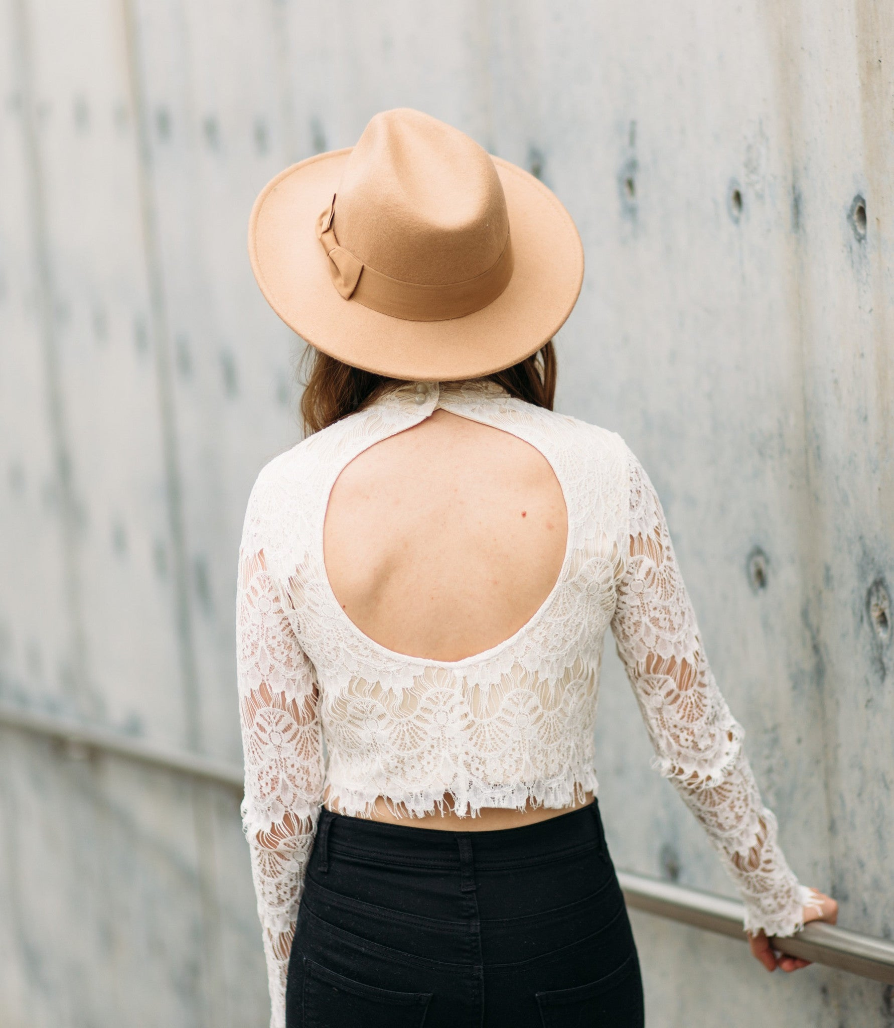 All About Lace Top