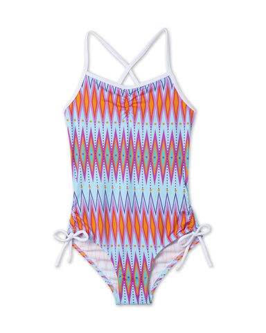 Colorful Chevron Bathing Suit