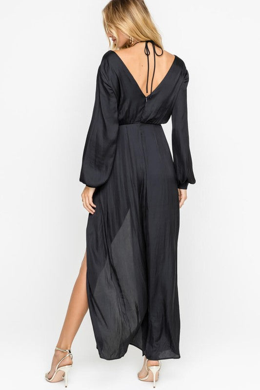 680e24e0300 ... sultry long sleeve maxi romper