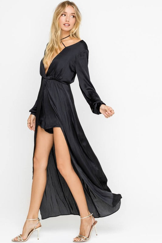 6db7aee94b4 sultry long sleeve maxi romper ...