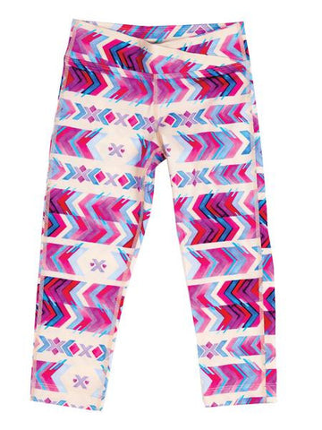 Surfs Up Girl's Swim Leggings