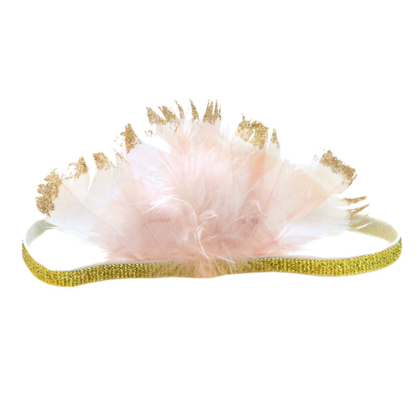 Pixie Feather Crown Child's Headband