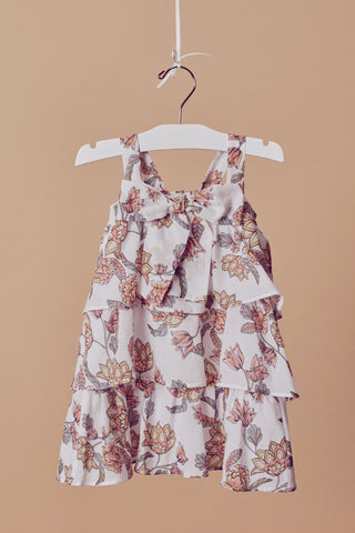 Girl's Flower Power Tank Dress