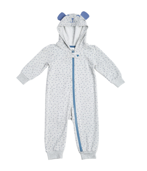 Marley Hooded Baby Onesie