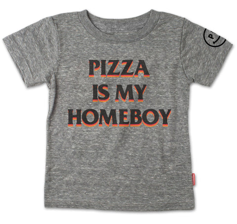 Pizza Is My Homeboy Child's Tee