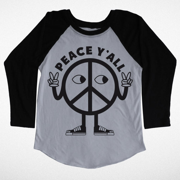 Peace Y'all Child's Raglan