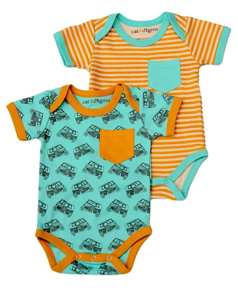 Tuk Tuk Infant Bodysuit 2 Pack