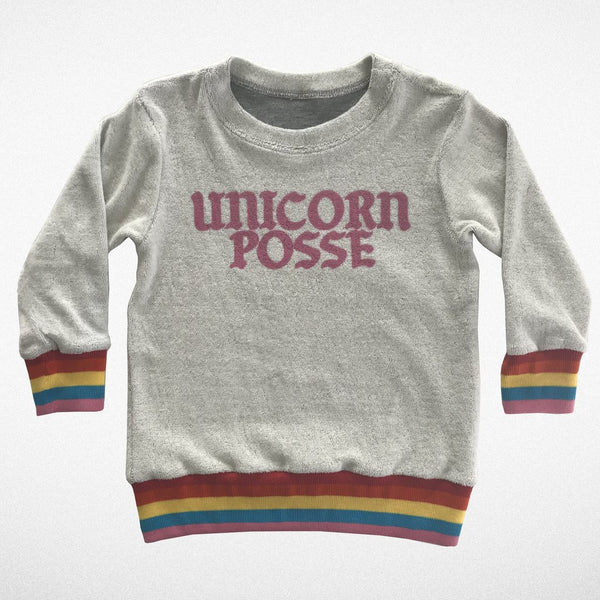 Unicorn Posse Crew Neck