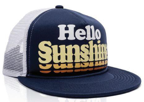 Hello Sunshine Baseball Child's Hat