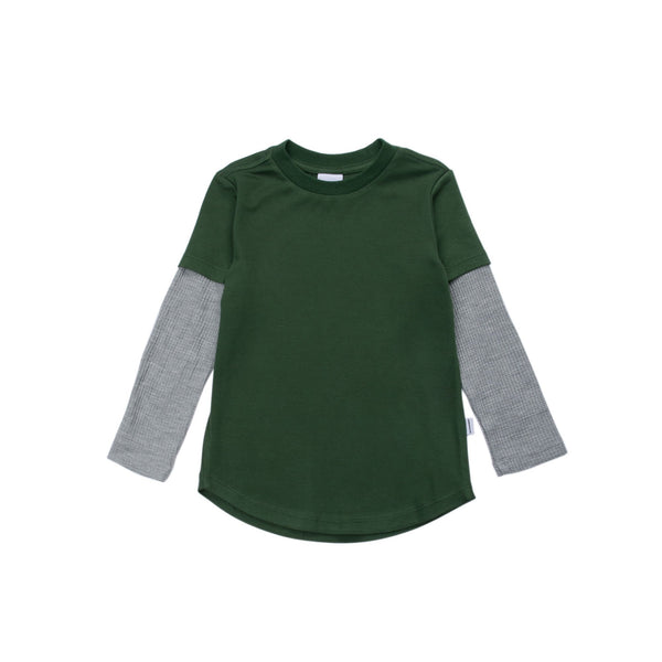 James Long Sleeve Thermal Tee