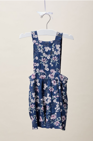 Juniper Floral Overall Child's Dress