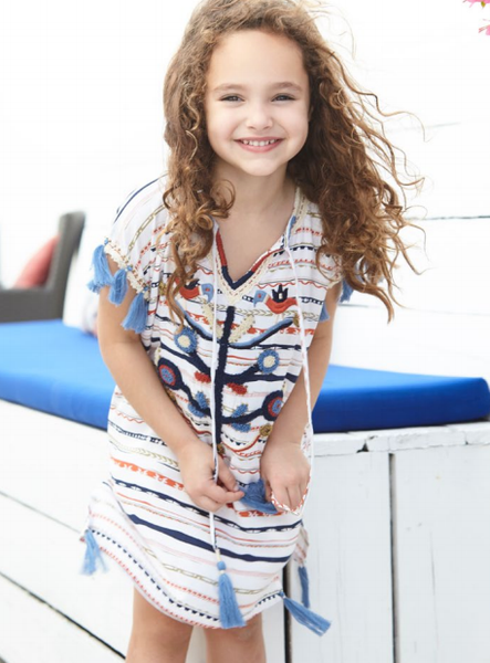 Child's Mexicana Short Kaftan