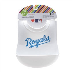 Kansas City Royals Baby Silicone Bib