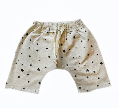 All Over Stars Baby Boy Harem Shorts