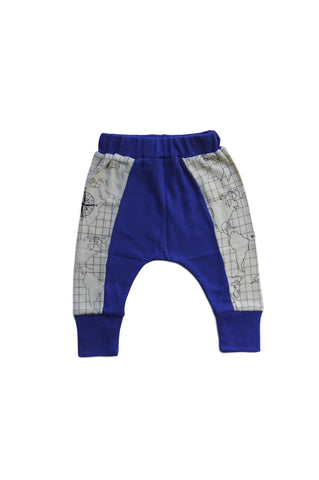 Maps Crawler Baby Pants
