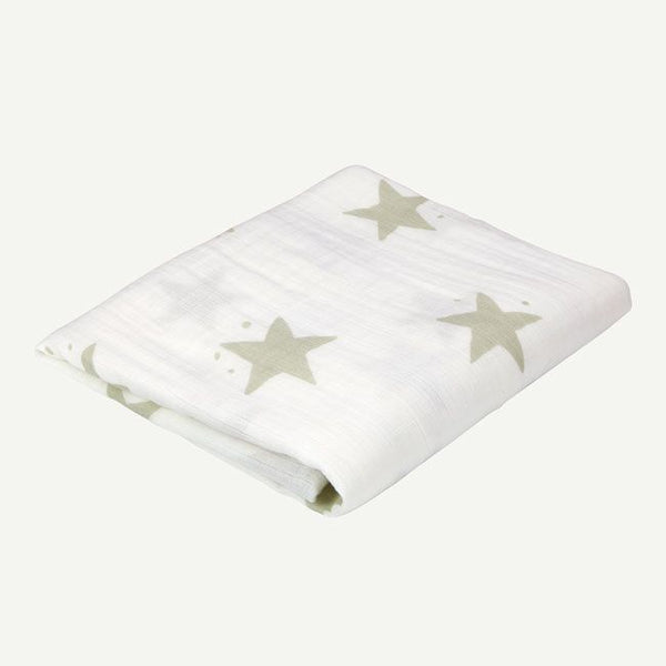 Star Print Swaddle Blanket