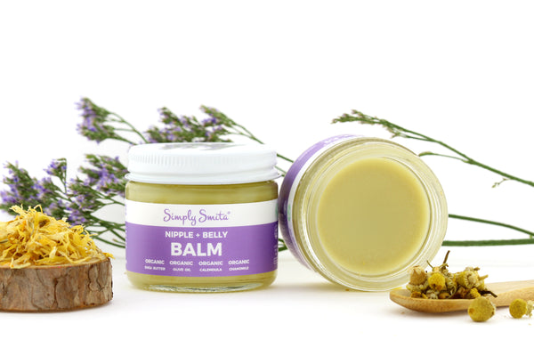 nipple-and-belly-balm-product-spotlight-organic-fair-trade-chamomile-calendula-flowers-raw-shea-butter
