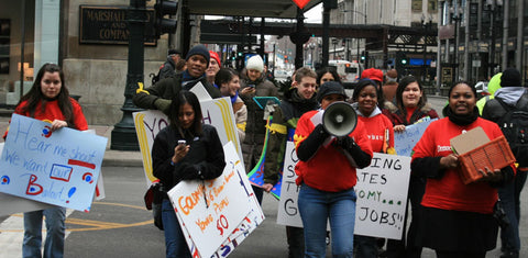 Mikva Challenge Youth Protest