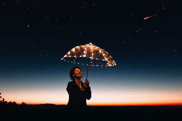 woman-umbrella-light-dusk-authentic-self