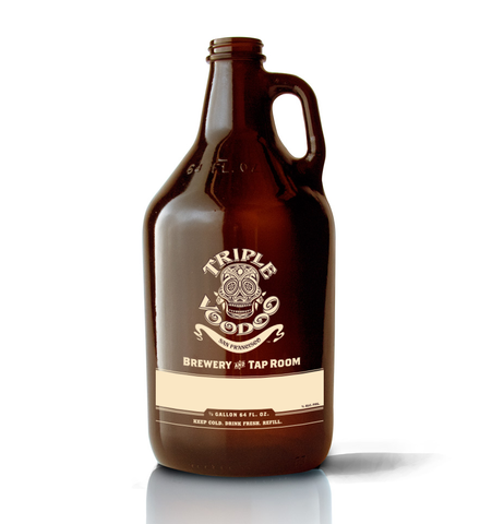 64oz Growler Filled With Your Favorite Beer
