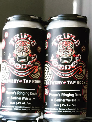 4 pk 16oz cans of Phone's Ringing Dude Sour Wheat