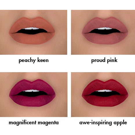 majestic matte lip collection