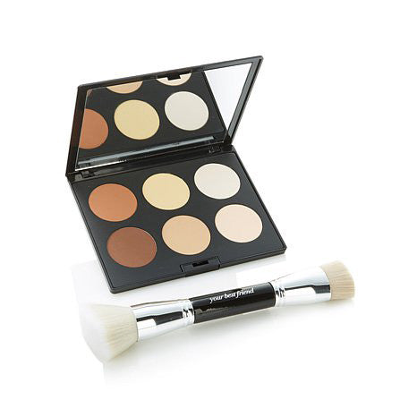 simply superb sculpt set w/ contour brush
