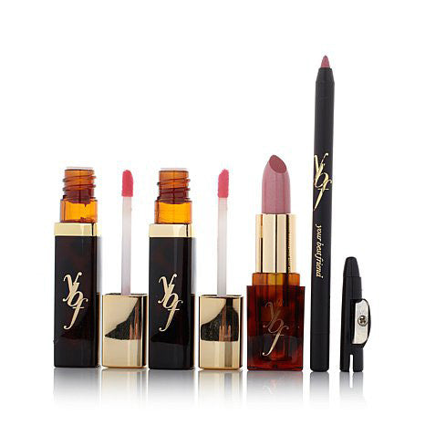 wild & wonderful pretty pink pout 4-piece lip collection