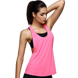 Womens Backless Deep T Running Yoga T-shirt - youandbeautifulpeople
