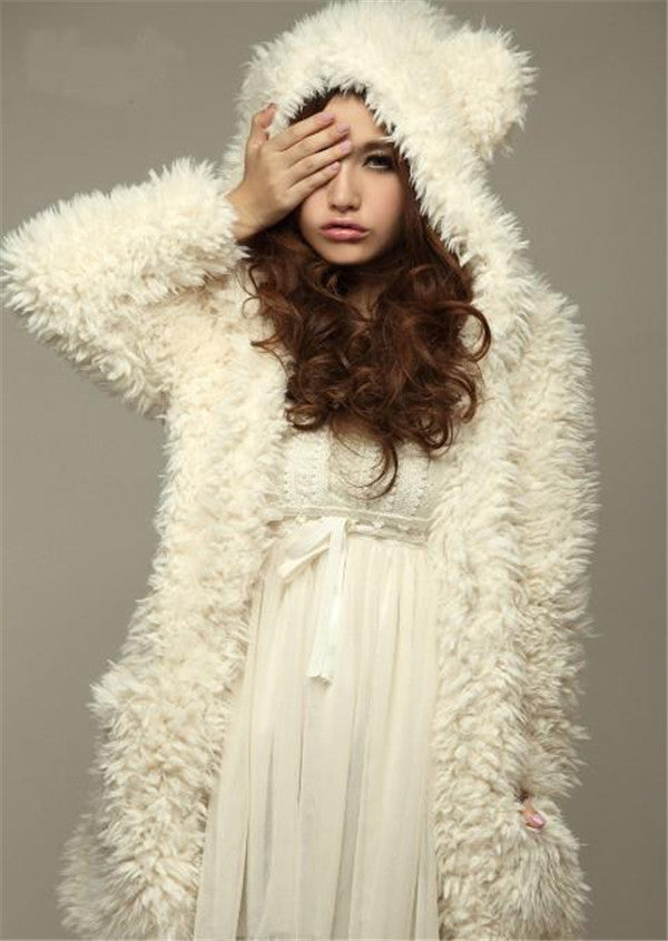 (Popular) Teddy Bear Hoodie Jacket - youandbeautifulpeople
