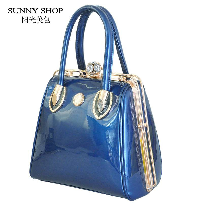 SUNNY SHOP  Fashion Skull Diamonds Women Bag Crystal Ladies Evening Bag  Bride Tote Bag Women Wedding Handbag Brand Designer