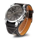 Luxury Leather Watch from Quartz(Free Shipping Today) - youandbeautifulpeople