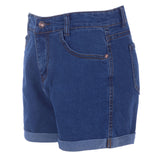 Summer High Waist Stretch Denim Shorts