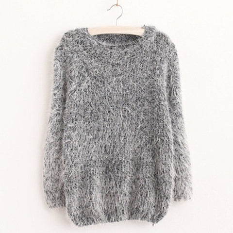 High Elastic Knitted Sweater