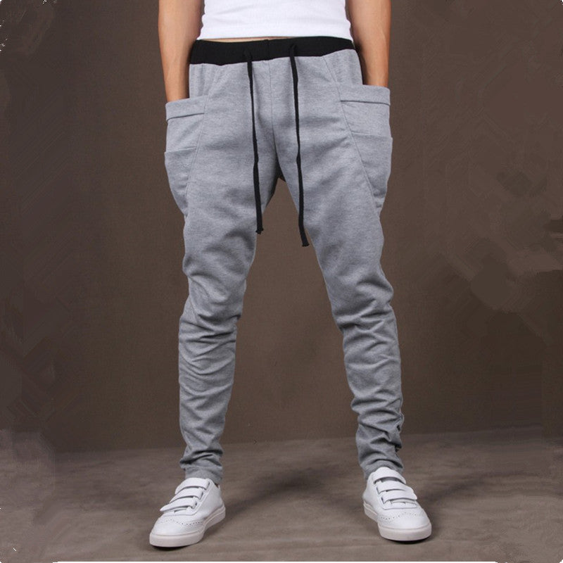 Unique Pocket Mens Joggers  Pants - youandbeautifulpeople