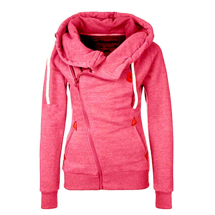 Zipper Design Thicken Hoody