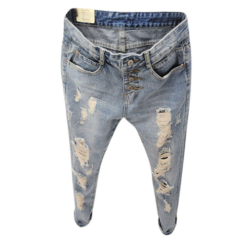 Graffiti Style Slim Camouflage Stretch  Army Tights Pants
