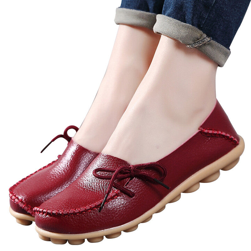 Large size  leather  shoes - youandbeautifulpeople