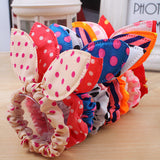 10Pcs/lot Girls Hair Band Mix Styles Polka Dot +FREE SHIPPING