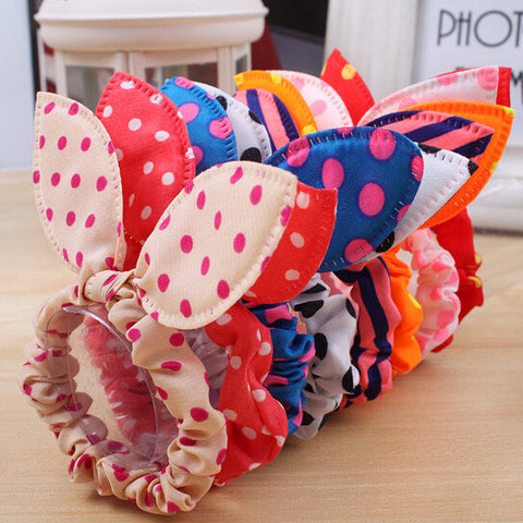Ribbon Rose Flower Bow Jaw Clip + FREE SHIPPING