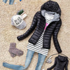 Cotton Hooded  Thicken Coat - youandbeautifulpeople