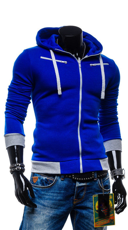 2015 Autumn Cardigan Men Hoodies Jacket Brand Clothing Fashion Hoodies Man Casual Slim Hoody Sweatshirt Sportswear Zipper Hoodie - youandbeautifulpeople