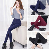 Elegant Wear Slim Stretch Pencil Pants - youandbeautifulpeople