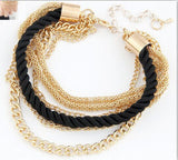 Fashionable Rope Chain Decoration Bracelet - youandbeautifulpeople