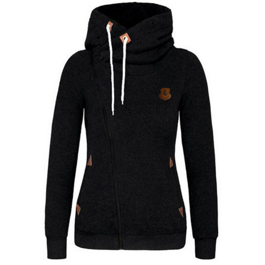 Zipper Design Thicken Hoody - youandbeautifulpeople